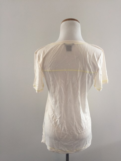 Club Monaco T Shirt Cream