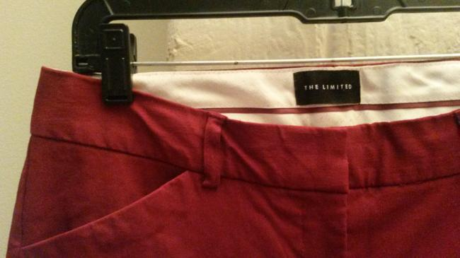 The Limited Flare Pants Dark red