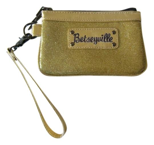 Betseyville Betseyville Glitter Girl Gold Wristlet by Betsey Johnson