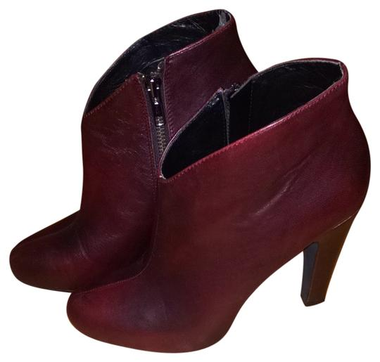 Jessica Simpson Oxblood Boots