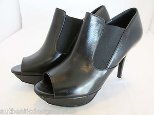Vera Wang Platform Platform Booties Boots Black Pumps