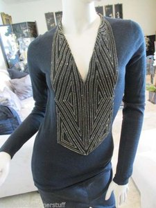 Naeem Khan Long Sleeve Sweater