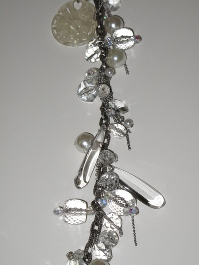 mark. mark. Chandelier Chain Bejeweled Necklace