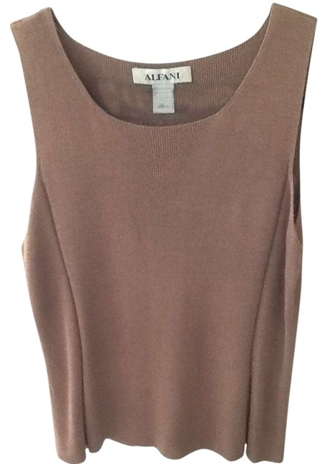 Preload https://item1.tradesy.com/images/alfani-brown-sweaterpullover-size-12-l-336820-0-0.jpg?width=400&height=650