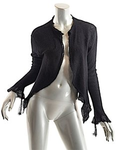 Lainey Cashmere Metallic Cardigan