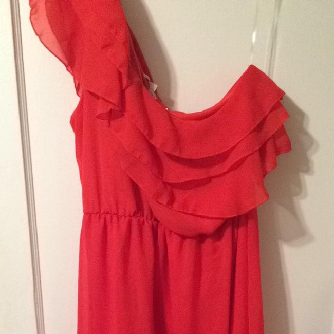 Charlotte Russe short dress Red/orange on Tradesy