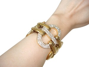 Chunky and bold gold bracelet
