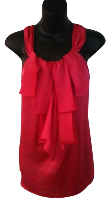 Preload https://item5.tradesy.com/images/willi-smith-red-medium-blouse-size-8-m-3368674-0-0.jpg?width=400&height=650