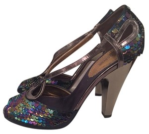 Roberto Cavalli Multicolor Sandals