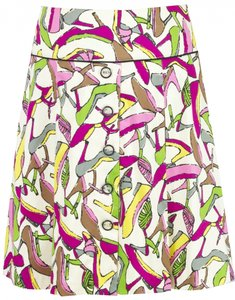Claude Brown Skirt Multi