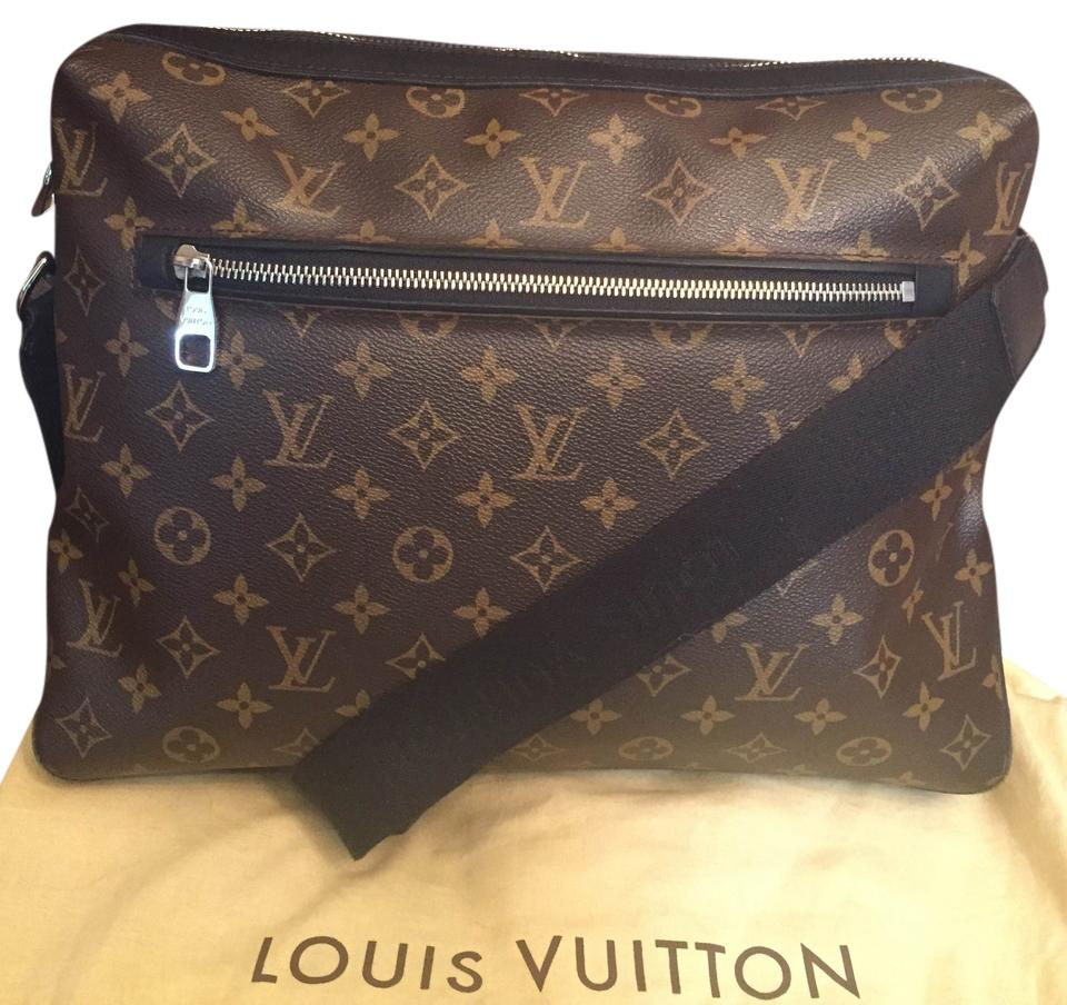 3e754dcb72ce Louis Vuitton Macassar Torres Gm Cross Body Brown Black Monogram Canvas  Messenger Bag