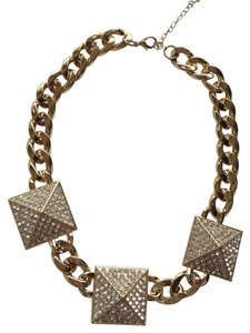 AAC Gold statement necklace