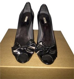 Miu Miu Pewter Pumps