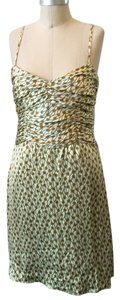 Tocca short dress Light Green Pinwheel Print on Tradesy