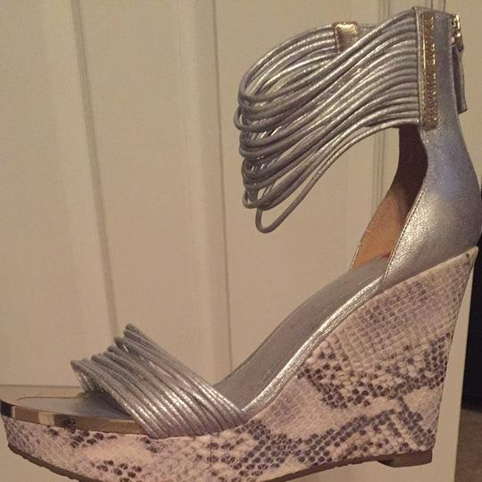 Elaine Turner Silver Wedges