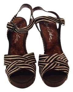 Sam Edelman Zebra Wedges