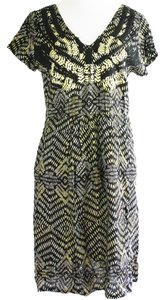 Angie short dress Embroidered Beaded Ethnic on Tradesy