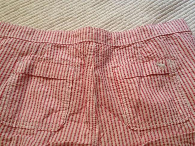 Abercrombie & Fitch Mini/Short Shorts Red White Stripes