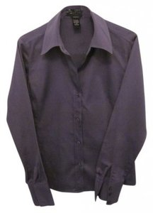 Geoffrey Beene Stretch Fitted 3 Button Cuff Button Down Shirt light purple