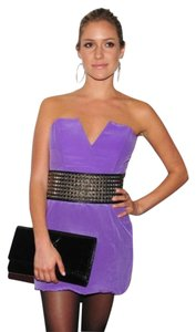 Naven Silk Strapless Dress