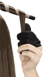 Conair CONAIR Heat Resistant Three-Finger Glove for Use with Hot Hair Tools, Curling Iron, Flat Iron
