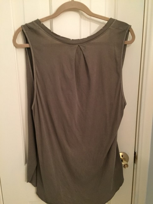 Free People V-neck The Draped Top Green