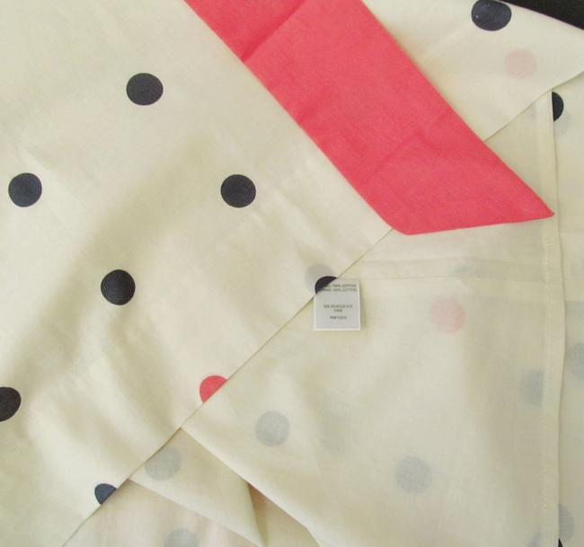 Garnet Hill short dress Orange, Coral, Ivory New Without Tags Polka Dot Fit Flared 1950s on Tradesy Image 5