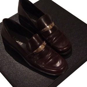 Ralph Lauren Dark Brown Flats