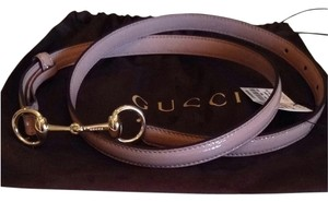 Gucci Gucci Patent Leather Belt