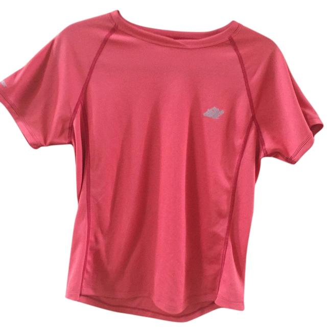 Eastern Mountain Sports Workout Workout Apparel Hiking T Shirt Red