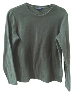 Lands' End Casual Sports Apparel Workout Fleece Cozy Sweatshirt