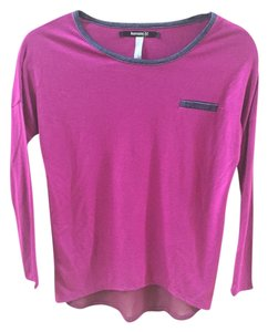 Kensie Girl Cozy Top Purple