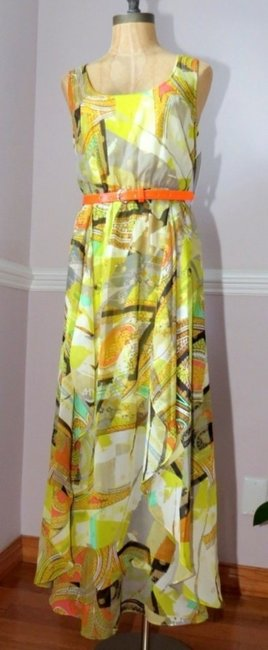 Multi print Maxi Dress by Calvin Klein