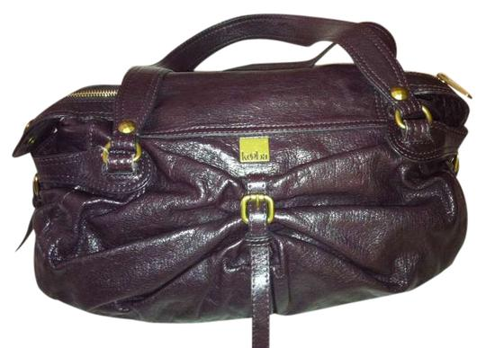 Kooba Satchel in Eggplant