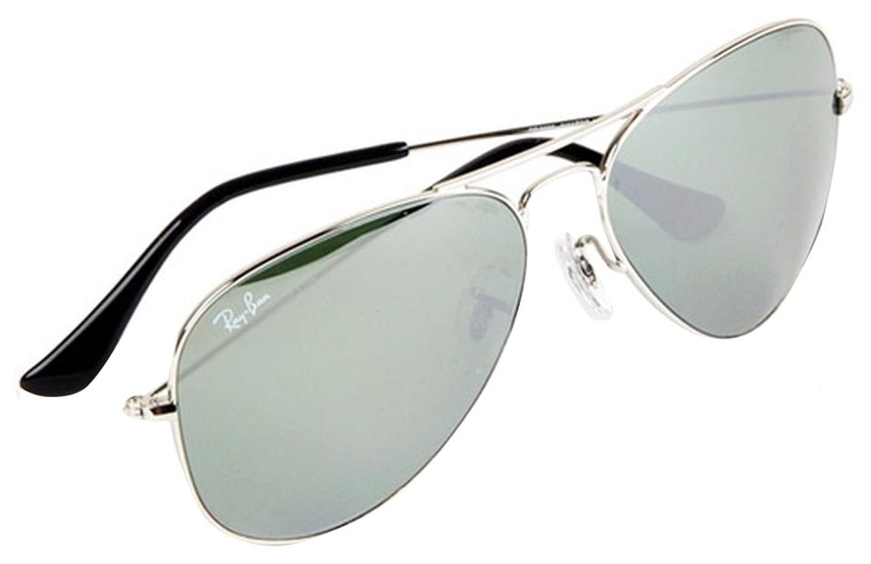 90bf92e571 Ray-Ban Authentic Ray-Ban Aviator Flash Sunglasses RB3025 W3277 Silver  Mirror Lens With ...