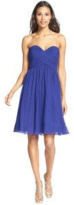 Donna Morgan Chiffon Strapless Dress