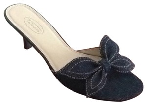 Talbots Indigo Denim Sandals