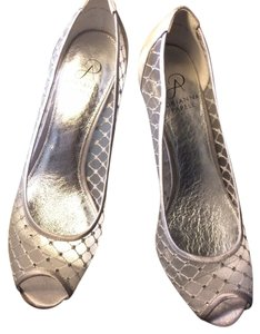 Adrianna Papell Pumps Silver Formal