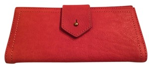 Madewell Madewell Post Wallet in Washed Leathe
