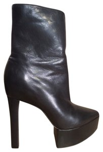 Theory Boot Bootie Edgy Spectacle Sophisticated Elegant Theyskens' Black Platforms