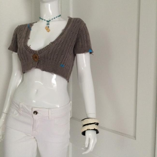 Project E Vintage Cropped Shrug Sweater