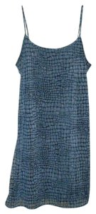 Jalate Jeans short dress Silver Grey Snakeskin Skin on Tradesy