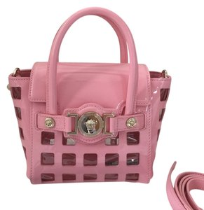 Versace Satchel in Pink