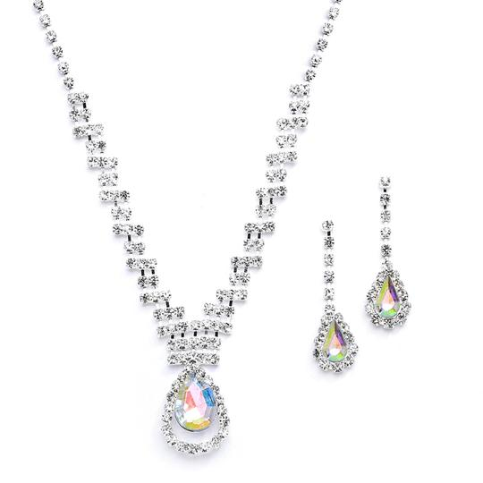Preload https://item3.tradesy.com/images/mariell-silver-prom-or-bridesmaids-rhinestone-with-ab-caged-pear-4140s-ab-necklace-3375607-0-0.jpg?width=440&height=440