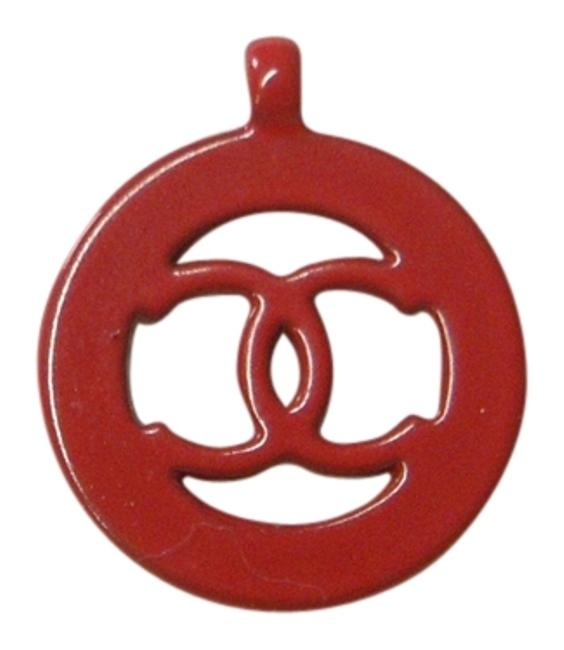 Item - Red Cut-out Logo Pendant Or Small Charm
