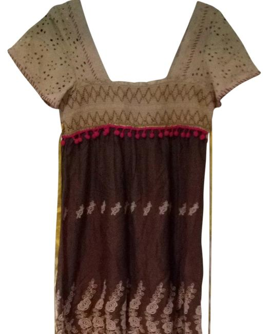 Free People short dress Brown And Tan on Tradesy