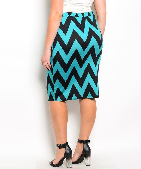 Other Skirt black and jade