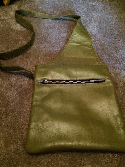Other Leather Messenger Cross Body Bag