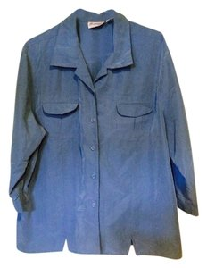 Joanna Button Down Shirt Blue