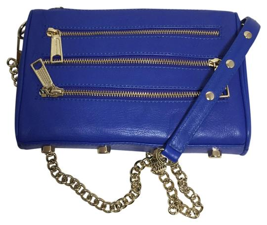 Preload https://item5.tradesy.com/images/rebecca-minkoff-mini-five-5-zip-bright-blue-leather-cross-body-bag-3377179-0-0.jpg?width=440&height=440